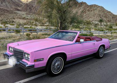 1985 Pink Cadillac Biarritz