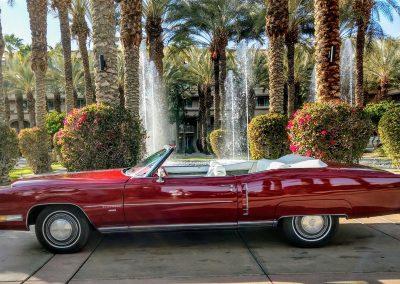 Red 1971 Cadillac Eldorado