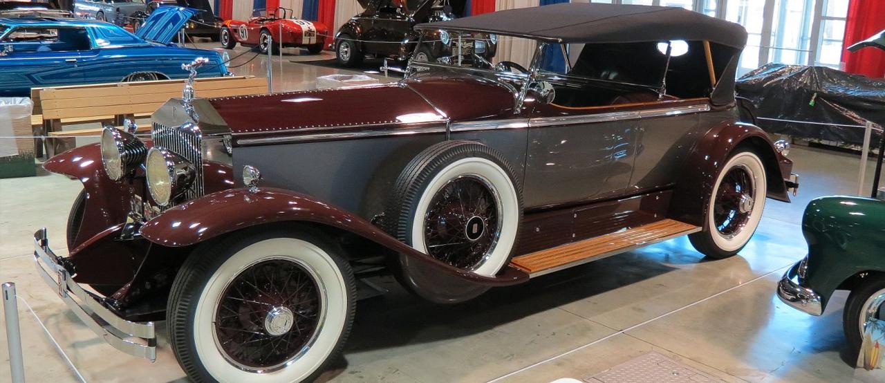Burgundy 1929 Rolls Royce Phantom