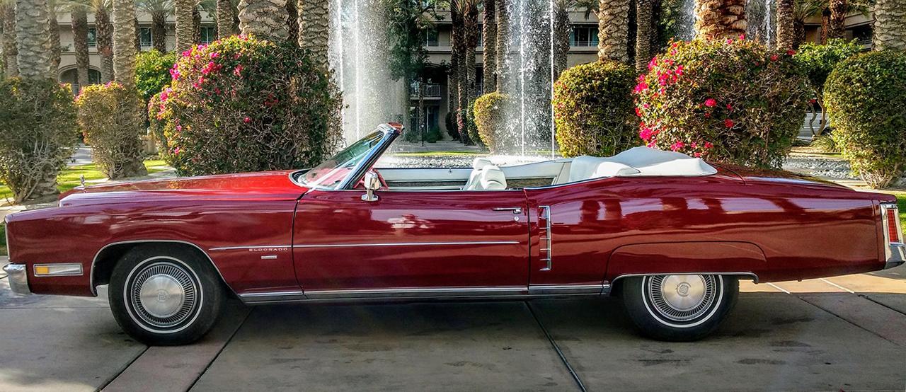 1971 Convertible Cadillac Eldorado