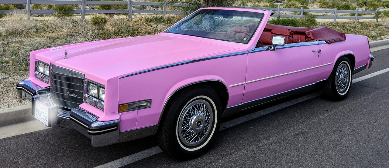 1985 Pink Cadillac Beretz