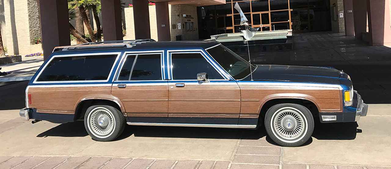 1991 Ford Crown Victoria Station Wagon