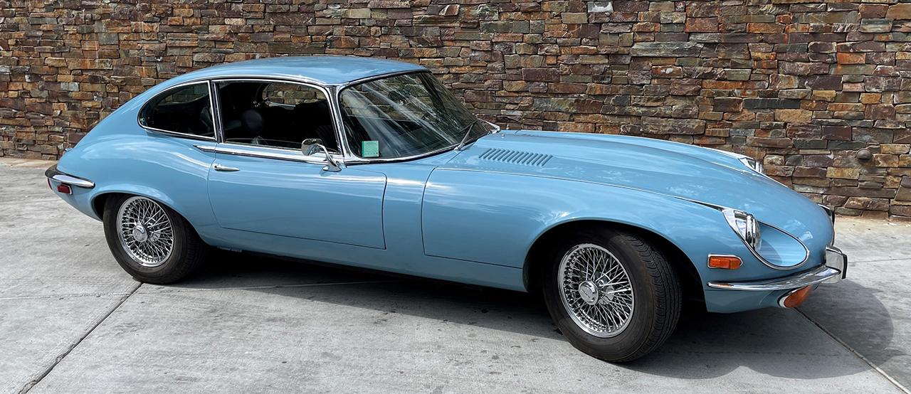 Sky Blue Cylinder Coupe